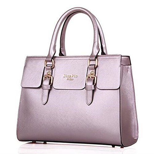 Set Crossbody Purple Newbestyle PU Newbestyle Wallet Women Handbags Women 5PCS P4q8Iz