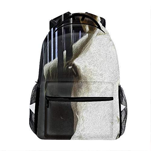 Horse Backpack For School Shoulder Daypack Handbag]()