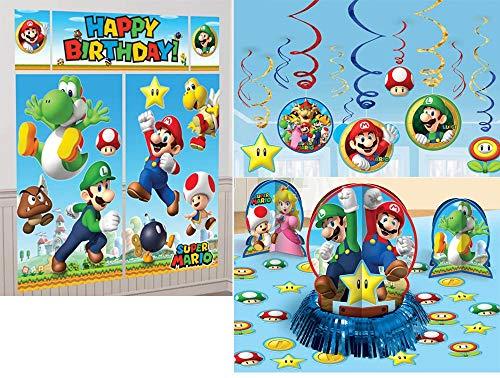 Super Mario Bros. Party Decoration -