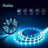 Nexlux LED Strip Lights, 16.4ft Waterproof IP65