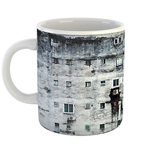 (Westlake Art - Window Urban - 15oz Coffee Cup Mug - Modern Picture Photography Artwork Home Office Birthday Gift - 15 Ounce)