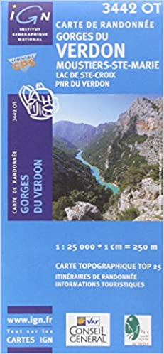 gorges du verdon carte