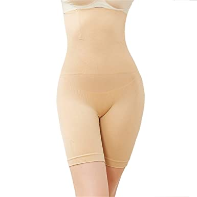 084cc6c06a93c Cuekondy Women Shapewear Shorts Plus Size Seamless High Waist Tummy Control  Underwear Thigh Slimmer Panties Body Shaper at Amazon Women s Clothing  store