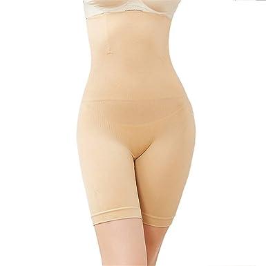0b0bec7258 Cuekondy Women Shapewear Shorts Plus Size Seamless High Waist Tummy Control  Underwear Thigh Slimmer Panties Body Shaper at Amazon Women s Clothing  store