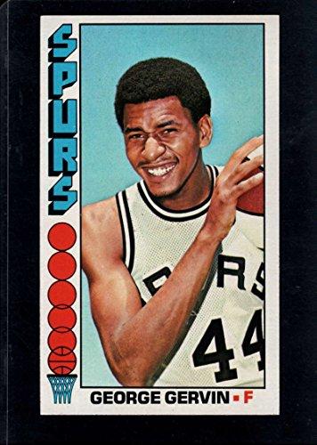 George Gervin Spurs - Basketball NBA 1976-77 Topps #68 George Gervin Spurs