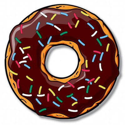 donut-food-funny-yum-vinyl-sticker-car-phone-helmet-select-size