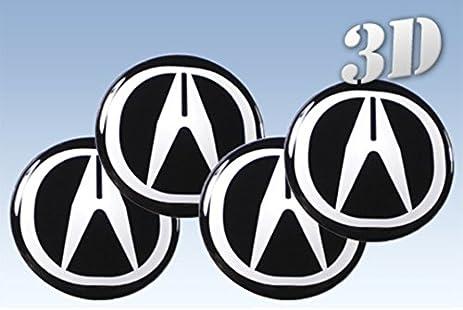 Amazoncom Wheel Stickers Acura All Size Centre Cap Logo Badge - Acura stickers