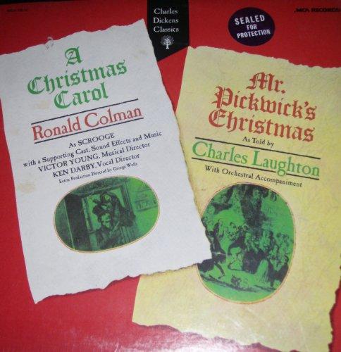 A Christmas Carol, Ronald Colman - Mr. Pickwick's Christmas, Charles Laughton [Vinyl LP] Ronald Colman A Christmas Carol