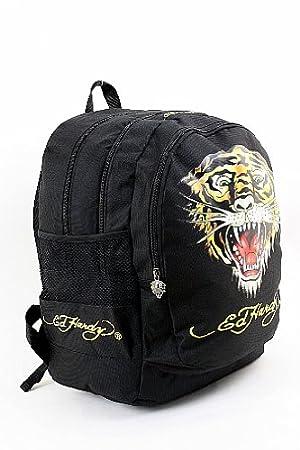 8dcd7c5eee Ed Hardy B1Brutig Bruce Tiger Backpack  Amazon.co.uk  Luggage