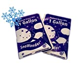 SnoWonder Instant Artificial Snow One Gallon Mix - Bonus...