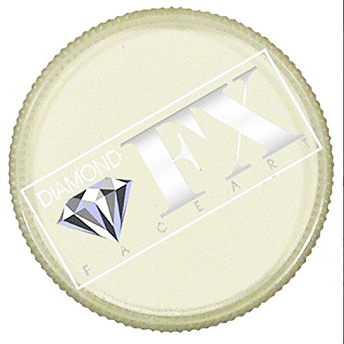 *CLEARANCE* Diamond FX Face Paint 45g (Neon White Cosmetic NN280C)