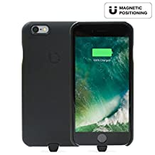 BEZALEL 2017 Latitude iPhone 7 [Qi PMA] Dual-Mode Universal Wireless Charging Case for GM Yukon, Chevy Tahoe Silverado, Cadillac Escalade, BMW Toyota In-Car Wireless Charger (Black) NOT for Plus model