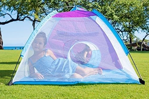 Kids Play Tent With Tunnel 3-in-1 Playhut by Unicorn Hours of Indoor Outdoor Fun