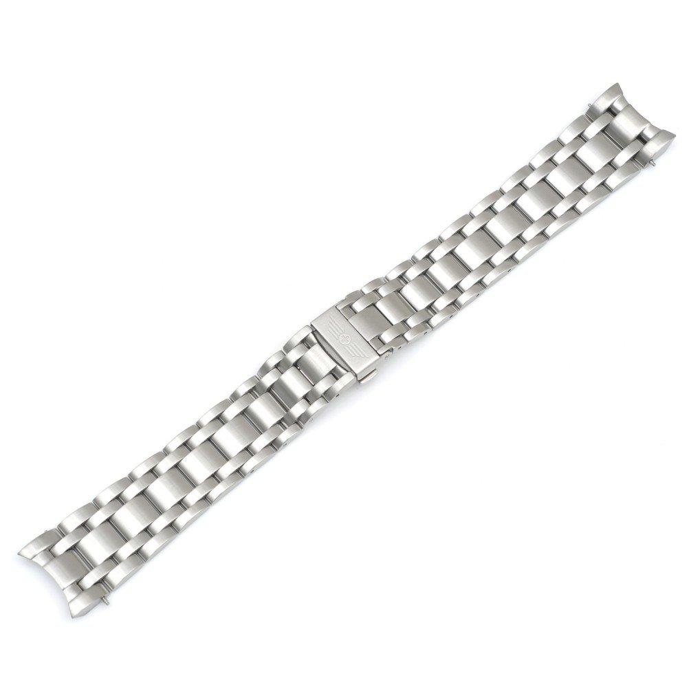 Swiss Army 23mm Stainless Steel Metal Bracelet