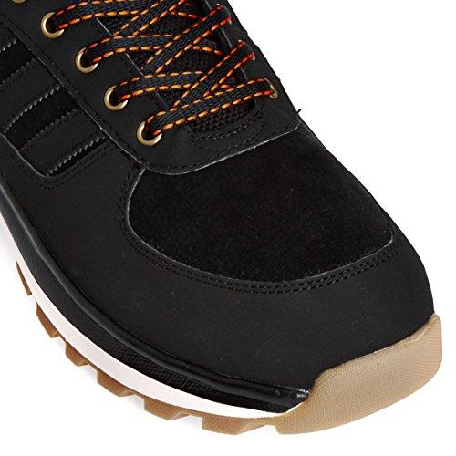 adidas Chasker Boot, Stivali Uomo Negro / Gris / Blanco / Marrón