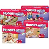 Baby Diaper Huggies - Item Number 10517CS - Size 3 - 126 Each / Case