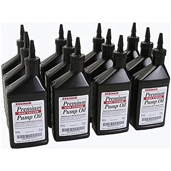 Amazon Com 13119 Robinair Vacuum Pump Oil Case Of 12 16oz