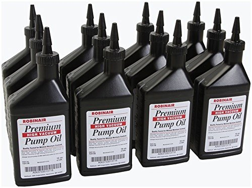 13119 Robinair Vacuum Pump Oil Case of 12/16oz Bottle for sale  Delivered anywhere in USA