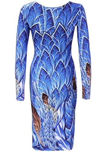 Confortables Femmes Longue Robe De Soirée De Fête De Style Dessin Col Rond Manches 1