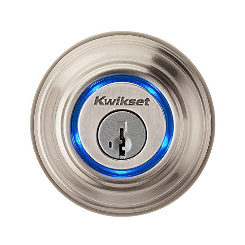 Kwikset Kevo Smart Lock with Keyless Bluetooth Touch to Open Convenience in Satin Nickel [並行輸入品] B01BFULRXW