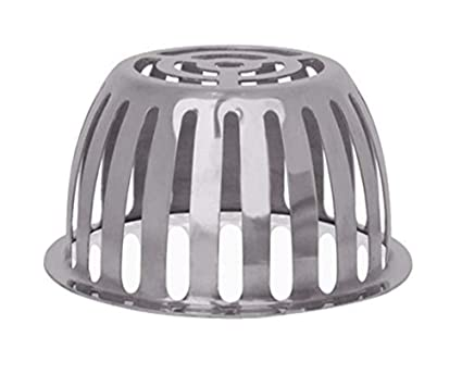 Stainless Steel Drain Roof Dome Drain Downspout Cover