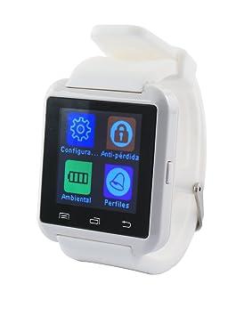 Ksix BXSW02 - Smartwatch, color blanco: Amazon.es: Electrónica