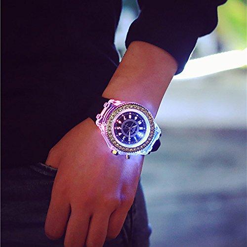 Vodoka Sales! Waterproof LED Watch Men And Women Lovers Watch Smart Electronics Watches - Electronics Sale