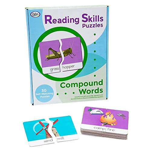 Compound Words Game (Didax Reading Skills Puzzles: Compound)