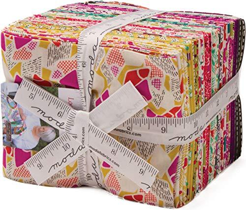 (Jen Kingwell Looking Forward 30 Fat Quarters Moda Fabrics 18141AB)