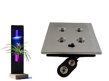 Kalamitica led4 illuminazione per vasi di cubi magnetici Ø 6 cm 4