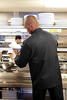 Chef Works Men's Calgary Cool Vent Basic Chef Coat