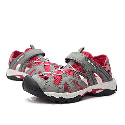 Clorts Women's Shoe Outdoor SD207 Hiking Seaside Water Sandal Rose Whisper wa1vxUw