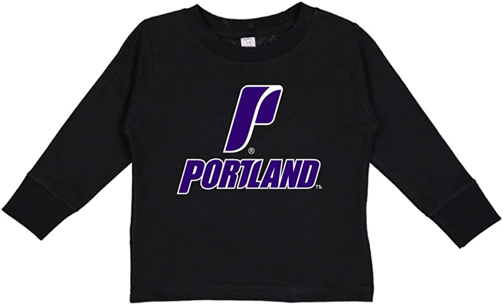 NCAA Portland Pilots PPPLU045 Toddler Long-Sleeve T-Shirt