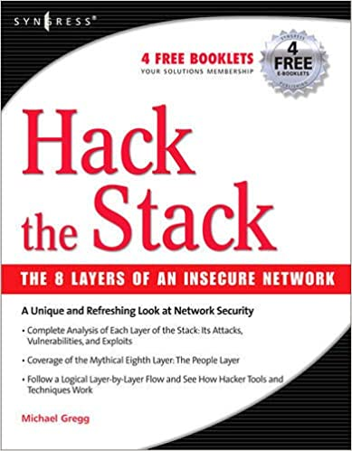 Hack the Stack: Using Snort and Ethereal to Master The 8