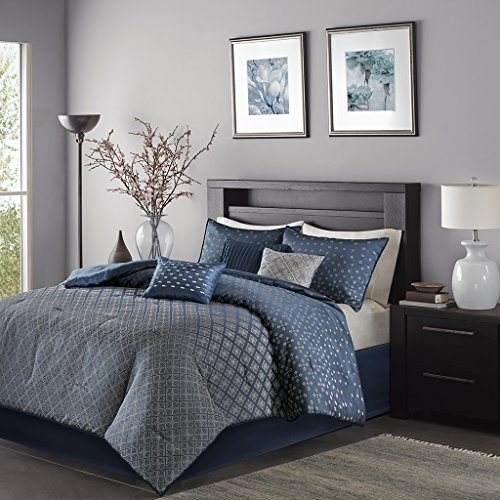 Madison Park Biloxi King Size Bed Comforter Set