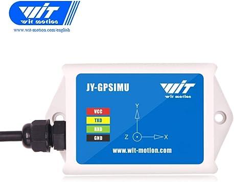 WTGAHRS2 Sensor IMU de alta precisión de 10 ejes Acelerómetro de 3 ...