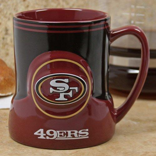 Boelter Brands NFL San Francisco 49ers 20oz. Game Time (Licensed Black Steins)