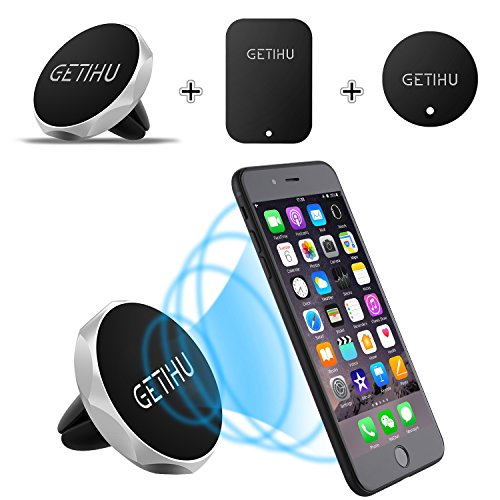 GETIHU Car Phone Mount Universal Air Vent Cell Phone Holder Magnetic Stand...