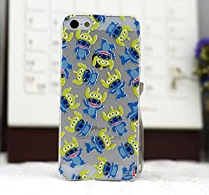 Fashion and Cute Series Cellphone Back For Iphone 4/4S Case Cover IN For Iphone 4/4S Case Cover (Hard Material) Lovely Cartoon Pattern with Clear Frame