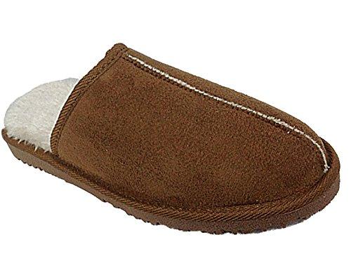 Foster Footwear , Herren Hausschuhe braun kastanienbraun