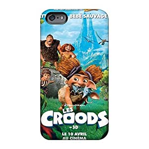 Scratch Resistant Hard Phone Cases For Iphone 6 With Customized Lifelike The Croods Skin CharlesPoirier