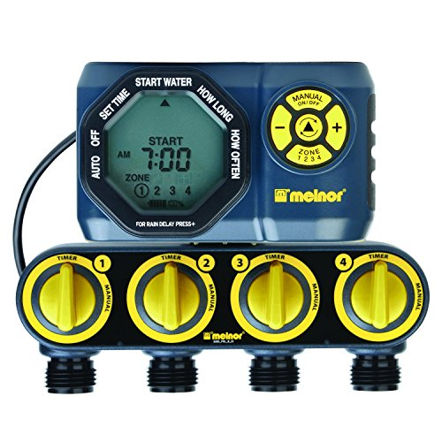 outdoor 4 zone water timer - 9