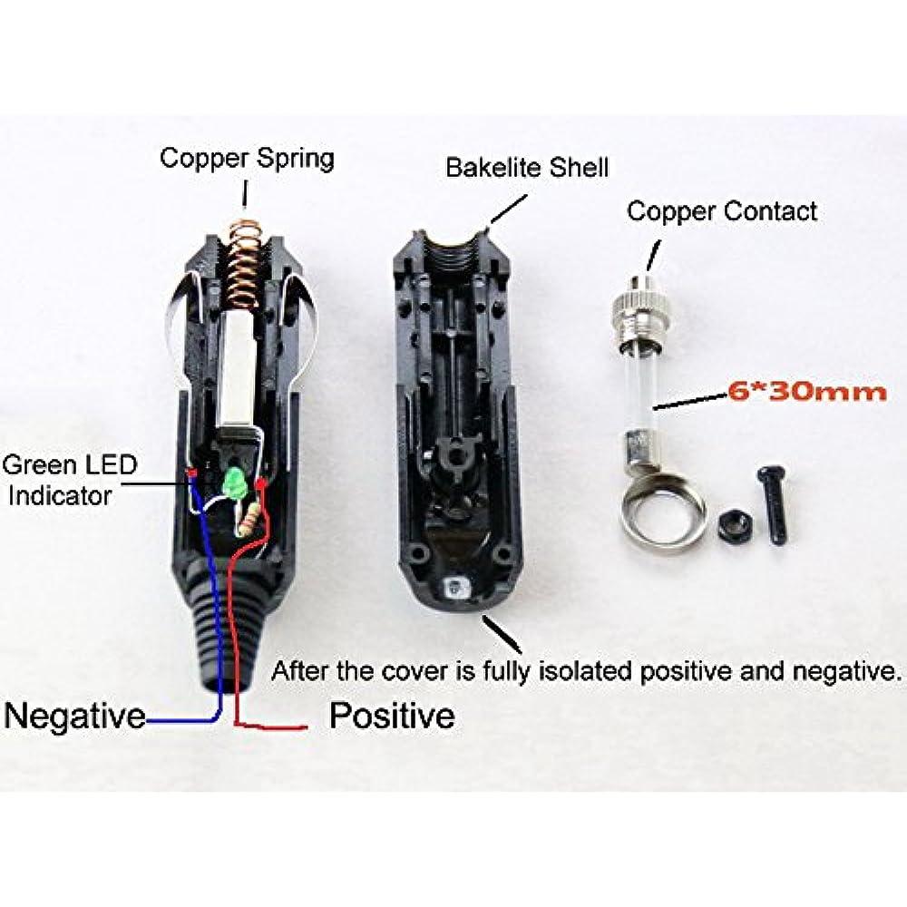 3 5 6 8 10 15 20 Amp Male Car Cigarette Lighter  Aux Socket