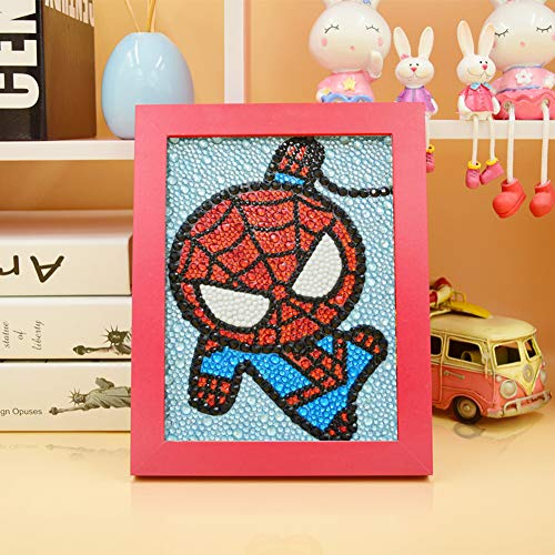 Diamond Painting for Kids Full Drill Painting Kits - Spiderman