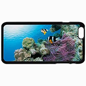 Fashion Unique Design Protective Cellphone Back Cover Case For iPhone 6 Plus Case Fish Black