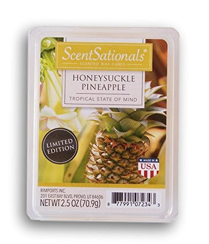 ScentSationals Honeysuckle Pinapple Wax Cubes - 2018 Limited Edition