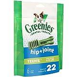 Greenies Hip and Joint TEENIE Dental Dog Chews - 6 Ounces 22 Treats
