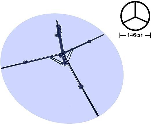 TINKTEEK 49-220cm 1,2kg Soporte Compacto Pie Estudio ...