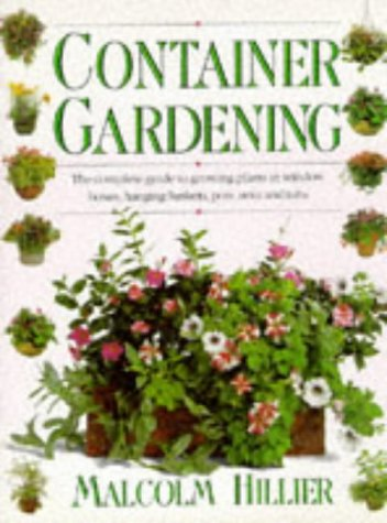 Container Gardening (English and Spanish Edition)
