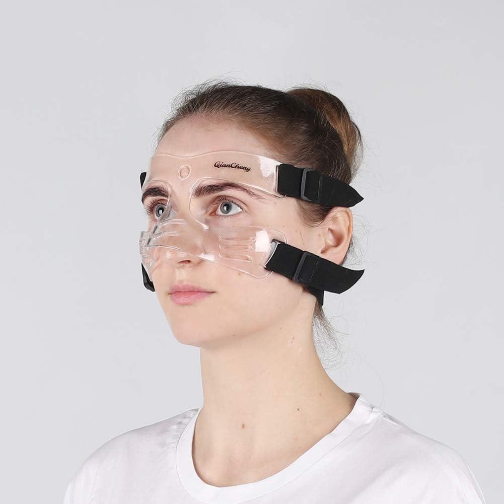 QianCheng Nez Guard Face Shield, DE Protection Masque Visage L5Medium Taille avec Rembourrage pour Les Femmes et Les Adolescents, Qc-l5-m